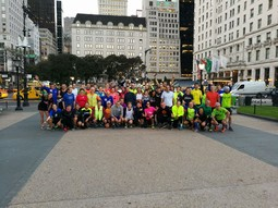 La maratona di New York-prologo